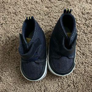 Surprize stride rite Blue denim baby shoes